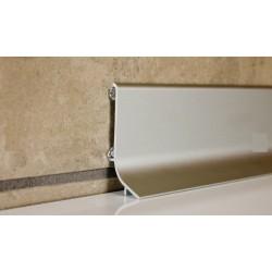 Hliníková soklová lišta Q63 samolepiaca 2,7bm