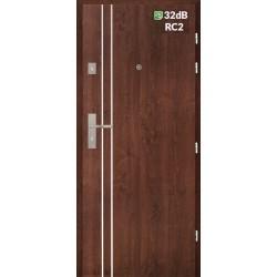 Vnútorné vchodové dvere Centurion Bazalt BI/C