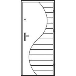 Bezpečnostné vchodové dvere Centurion Bazalt B5/C