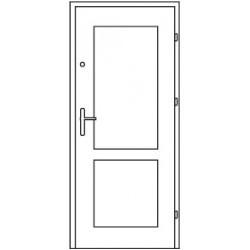 Bezpečnostné vchodové dvere Centurion Bazalt B6/C