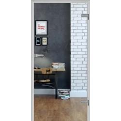 Interiérové dvere DRE Galla 1 Priezračné sklo
