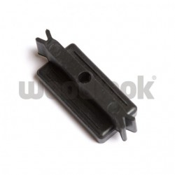 Montážny klip plast, medzera 5 mm