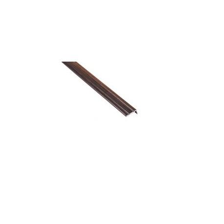 """AL Schodový profil ,,L"""" 25x10 mm, Teak 24, Cezar"""