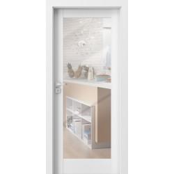 Interiérové dvere PORTA Grande A.1 so zrkadlom