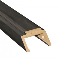 Zárubňa pre dvojkrídlové dvere posuvné do puzdra 420-440 mm Asymetrická