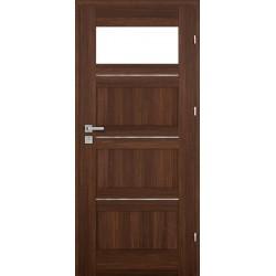 Interiérové dvere Centurion Inox Bezfalcové S4/L