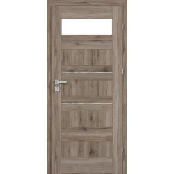 Interiérové dvere Centurion Inox Bezfalcové S5/L