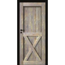 Interiérové dvere DRE Bezfalcové Grafi G21 (lesklé)