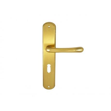 Kľučka GAJA mosadz izbový kľúč
