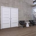 Zárubňa pre dvojkrídlové dvere posuvné do puzdra