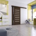 Nástenný posuvný systém VOSTER pre jednokrídlové dvere