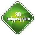 3D polypropylén