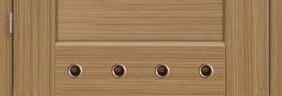 Ventilačné PVC krúžky (šírka dverí 60-70)