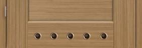 Ventilačné PVC krúžky (šírka dverí 80-90)